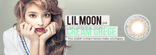 PIA LILMOON 1DAY UV CREAM GREGE COLOR CONTACT LENSES Disposable 10PCs