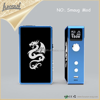 E cig vaporizer e cigaretter with temperature control box mod vs smaug mod 150w box mod