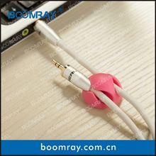 Multi-purpose Cable Clips Bright Colors plastic ball pen with clip