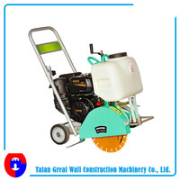 electrical road cutting machine motor type concrete road cutter hand hold road saw