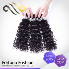 Lowest Cost No Shedding 100% Human Curls Bohemian Kinky Curly Human Hair Weft Extensions