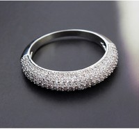 African jewelry ring WEDDING RINGS FOR BRIDE FINE RINGS MICROPAVE SETTING JEWELRY