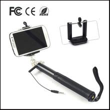 Reverse portable legoo mobile phone monopod handle