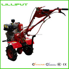 Hot Selling Latest Two Wheel Hand Operated Small Plow Tractor With KAMA Engine
