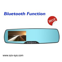 """driver safety necessary 4.3"""" lcd ultra-thin front hd rear view camera for cars"""