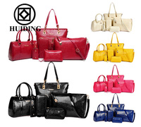 Hot sale 6 pcs in 1 set handbags for women fashion ladies handbag china wholesale women bags