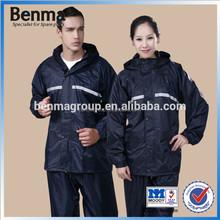 Male and female universal midium size outdoor raincoats