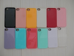 High quality candy color phone case for iPhone 5 cover,PC Material plain phone case for iphone 5