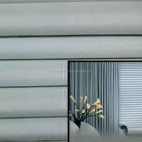Home Use Anti-static 3 Pass Coating Blackout Fabric