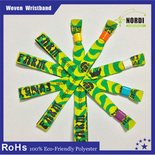 New products Event & Party supplies woven wristbands for events