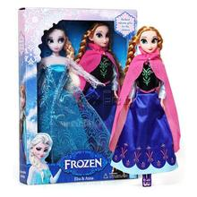 12'' Frozen doll Elsa Anna doll high quanlity with Joints Moveable