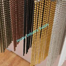 2015 venta caliente elegante colgantes de Metal cortina de cuentas