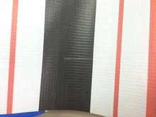 laminated pvc awning fabric blue white stripe