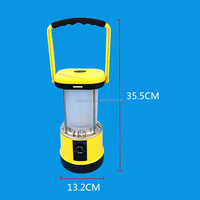 solar emergency light solar lamp solar lantern with Compass and mobile phone charger