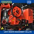 Pequeño motor diesel de piedra trituradoras línea de producción para la pequeña escala máquinas de minería
