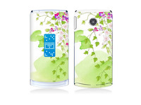 Beaytiful Flower Vinyl Decal Screen Protector For LG Series, for GD580 sticker.