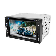 Car multimedia system with gps navigation phonebook BT CD player radio USB STC-6807DVD