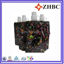 plastic spout wine pouch