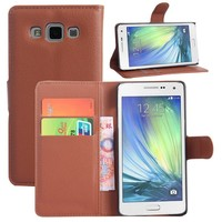 Brown Color Business Man Fashion Vintage Case for Samsung Galaxy A5 Wallet PU Leather Card Holder Case