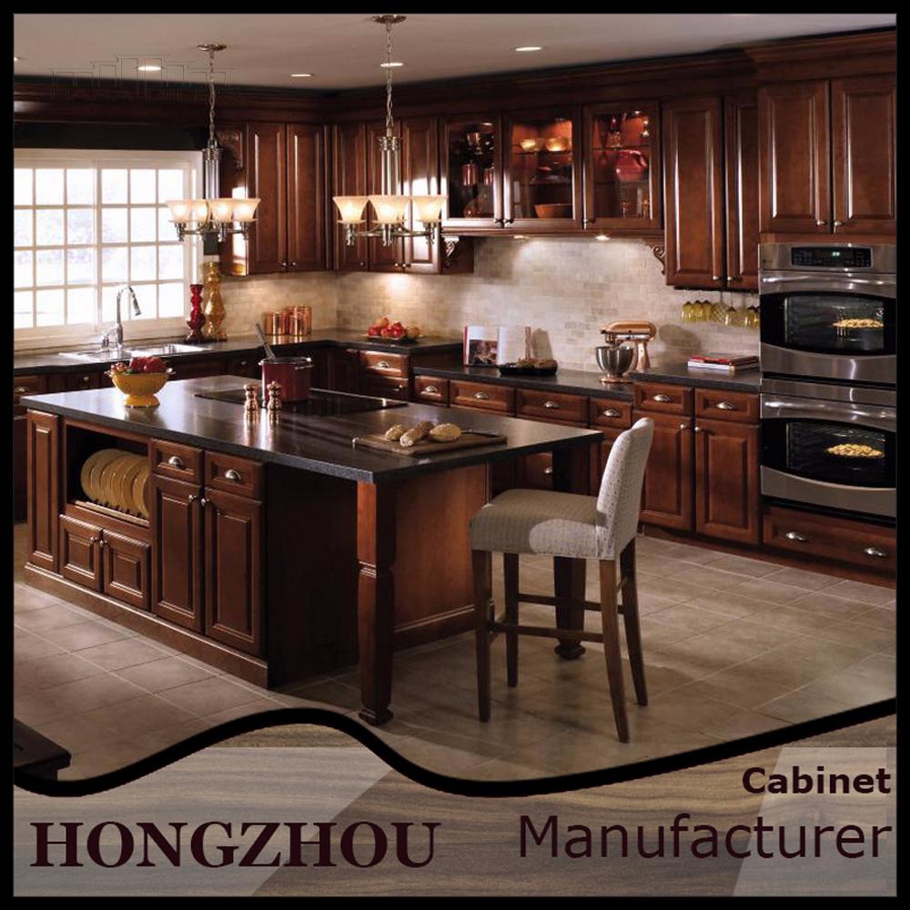 Alibaba america beech wood kitchen cabinets with self for Beech wood kitchen cabinets