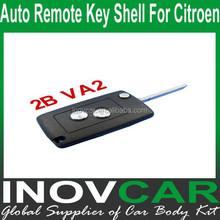 Auto Remote Key Shell 2Button For Citroen Car Remote Key Shell