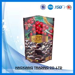 chocolete coffee powder packing bag/250g coffee bag with valve/valve bag for coffee chocolete flavor