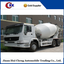 2015 SINO HOWO 6x4 concrete mixers truck euro 2 and extended cab