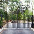 Quintal porta de ferro