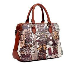 2015 new Summer Candy women shoulder bags fashion design PU handbag manufacture