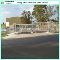 Smooth aesthetic appearance anti-climb 358 mesh fence,fencing post hot China cheap fence wholesale