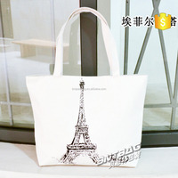 Eco-friendly Customized recycle cotton bags shopping