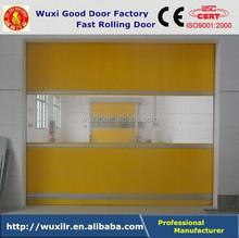 Auto Radar Sensor High Speed PVC Door with Infrared