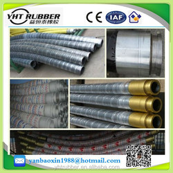 "fabric reinforcement cement and concrete rubber hose 2"" for building machinery"