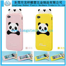 cute bear shape 3d silicone phone case,silicon thick phone case