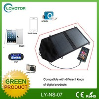 18% efficiency quick charging colored solar cell phone charger with mono cells