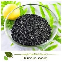 Pingxiang Honganyuan Humate 65HA+15FA+8K2O Potassium Fulvic Acid organic humus fertilizer
