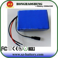 With PCM 18650 6s4p 24v 8ah li-ion rechargeable Battery Packs