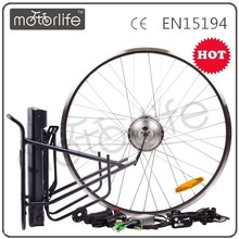 MOTORLIFE/OEM brand 2015 hot sale 36v 250w china motor bicycle engine kit