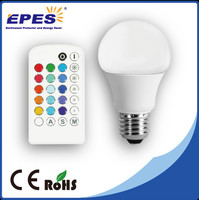 Plastice and aluminum A60 led bulb led lamp with high lumen auto led light