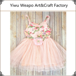New Summer Cute Tutu Christmas Dresses Light Pink Tutu Dress TWP-464