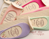 Women Invisible ankle Socks Slippers Cotton Shallow Mouth Summer Brand Sock Thin Solid Color Sock