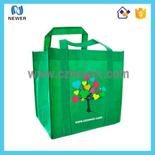 Reusable cheap promotional non woven shopping bag with custom logo