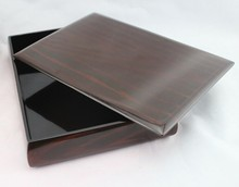 Japanese style wooden candy box / sushi box /tea box lacquer boxes of dried fruit