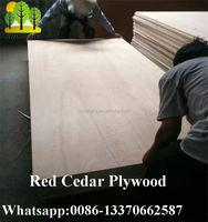 Pencil Cedar Plywood & Red Cedar 4x8 Veneer Plywood / Construction Materials / Linyi PLywood