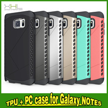 PC TPU Combo Heavy Duty Cover For Samsung Galaxy Note 5 Cell Phone Case