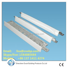 ceiling structural profiles - flat tee grid - small tee