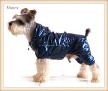 PVC Waterproof Dog Rain Coat With Four legs