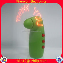 Best Selling Products Corporate Gift Custom led Wholesale Electric Fan Air Freshener