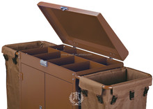 C-38A hotel articles housekeeping trolley