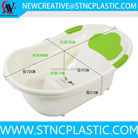 Thermometer Scales Digital Toddler Tub lilas bebe plastic bathtub with Slideguard Sink
